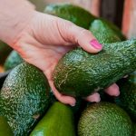 cropped image of a customer choosing avocados in the supermarket close up of woman hand holding avocado in market sale shopping food consumerism and people concept 1391 641 150x150 - pexels-photo-566566